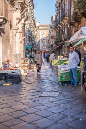 Vie di Catania