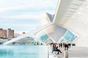 Valencia, tra edifici storici e futuristici