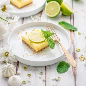 crostata al lime