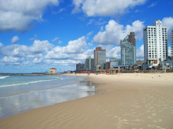 Le spiagge di Tel Aviv