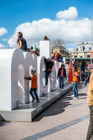 IAMSTERDAM - davanti al Rijksmuseum