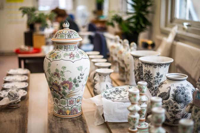 Fabbrica di ceramiche a Delft