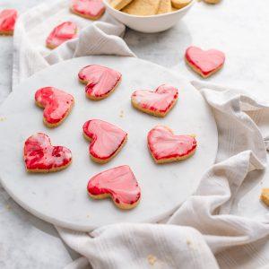 Biscotti marmorizzati di San Valetino