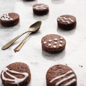 biscotti pasquali al cioccolato ripieni