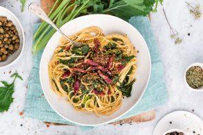 spaghetti cime di rape e nduja madeo - fancyfactory_copertina