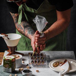 Cioccolatini Pistacchio e Liquirizia by Fancy Factory di Alessandro Zaccaro