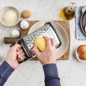 Rosti di patate e prosciutto by Fancy Factory di Alessandro Zaccaro